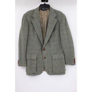 Vtg Polo Ralph Lauren men's 40R tweed sport coat